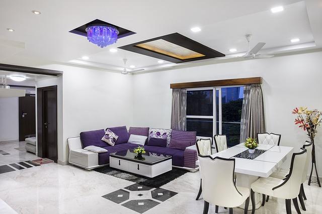 moderně zařízený dům