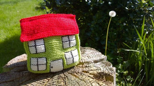 pletený dům