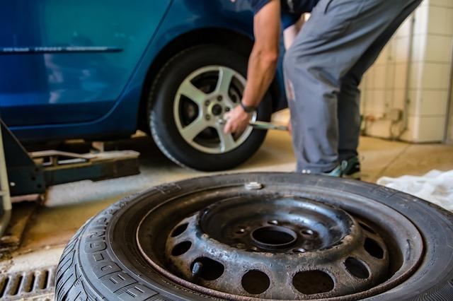 přezutí pneu